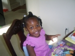 Makayla Willoughby (Daughter of Veronica Melvin Willoughby and Marlon Willoughby)(Granddaughter of Jennifer Melvin and G
